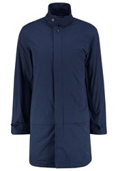 Pier One Short Coat Dark Blue
