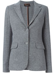 Loro Piana Two Button Blazer Grey