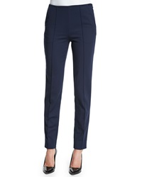 Jason Wu Cotton Techno Skinny Pants Dusk