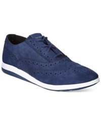Cole Haan Grand Tour Oxford Sneakers Women's Shoes Blue