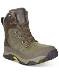 The North Face Chilkat Nylon Boots Men's Shoes Green Brown