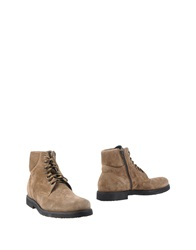 Alexander Hotto Ankle Boots Khaki