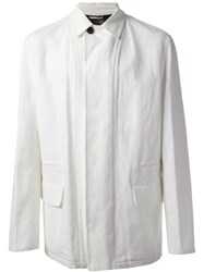 Herma S Vintage Loose Fit Blazer White