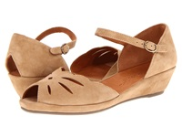 Gentle Souls Lily Moon Camel Women's Wedge Shoes Tan