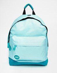 Mi Pac Classic Backpack In Mint Green Green