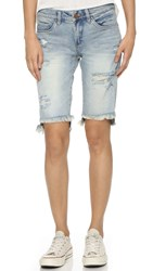 Blank Relaxed Bermuda Shorts Hate Watching