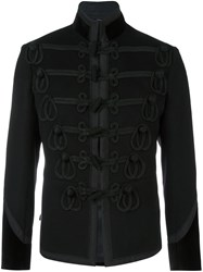 Alexander Mcqueen Band Jacket Black