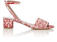 Tabitha Simmons Women's Idabell Ankle Strap Sandals Red