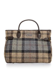 Barbour Multi Tartan Business Bag Multi Coloured Multi Coloured