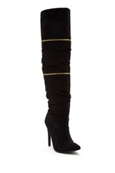 Michael Antonio Halima Sue Pointed Toe Boot Brown