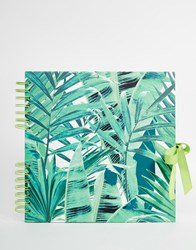 Paperchase Let's Squawk Tropical Medium Scrapbook Multi