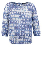 Opus Fu Aqua Blouse Easy Blue