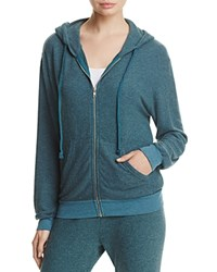 Wildfox Couture Love Story Zip Up Hoodie Sapphire