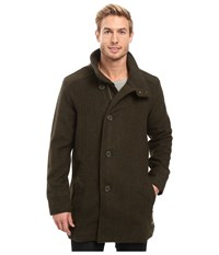 Prana Winter Peacoat Dark Green Heather Men's Coat Olive