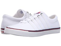 K Swiss Surf 'N Turf Og 50Th 50Th White Classic Blue Ribbon Red Canvas Men's Shoes