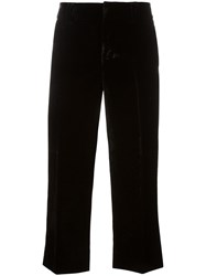 Dsquared2 'Mariacarla' Cropped Trousers Black