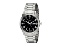 Timex Silver Tone Analog Expansion Band Dress Watch Silver Watches