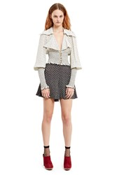 Anna Sui For Opening Ceremony Daisy Print Skort Black