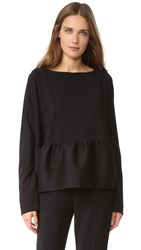 Antonio Berardi Long Sleeve Blouse Black