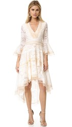 Alexis Ash Dress Pearl White