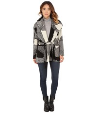 Obey Bexley Wrap Jacket Black Multi Women's Coat