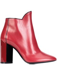 Pierre Hardy 'Belle' Boots Red