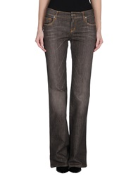Moschino Jeans Denim Pants Dark Brown