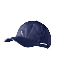 Nautica Logo Embroidered Baseball Hat Navy