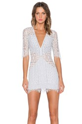 For Love And Lemons Lyla Cocktail Dress Gray