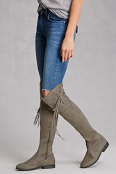 Forever 21 Lust For Life Faux Suede Boots