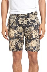 Men's Scotch And Soda Poplin Chino Shorts C Floral Print
