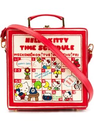 Olympia Le Tan 'Time Schedule' Shoulder Bag Red