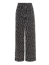 Dolce And Gabbana Polka Dot Silk Pyjama Trousers