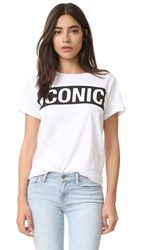 Happiness Iconic Tee White