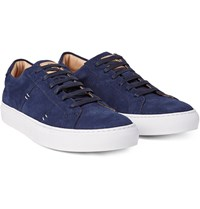 Greats The Royale Suede Sneakers Navy
