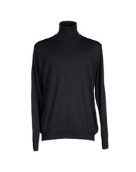Altea Knitwear Turtlenecks Men Steel Grey