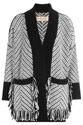Burberry London Wool Cardigan Multicolor