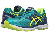 Asics Gt 2000 4 Lapis Safety Yellow Soothing Sea Women's Running Shoes Blue