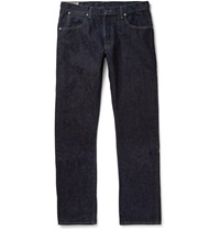 J.Crew Wallace And Barnes Slim Fit Selvedge Denim Jeans Blue
