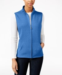 Karen Scott Petite Quilted Vest Only At Macy's Cascade Tide