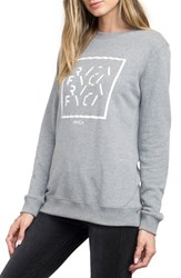 Rvca Women's Type Box Fleece Pullover