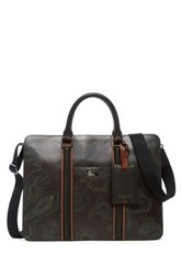 Ted Baker Icemanz Leather Document Bag Multi