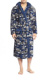 Men's Majestic International Camo Fleece Robe