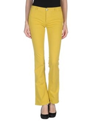 Mauro Grifoni Denim Pants Yellow