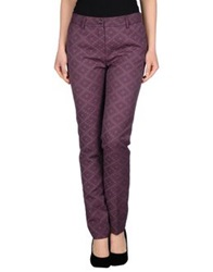 Gigue Casual Pants Deep Purple
