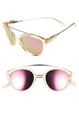 Westward Leaning Women's 'Flower' 51Mm Sunglasses Champagne Shiny Neon Pink Champagne Shiny Neon Pink
