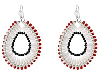 Gypsy Soule Gsde15352 White Red Black Earring