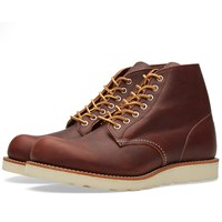 Red Wing Shoes Red Wing 8196 Heritage Work 6' Round Toe Boot Brown