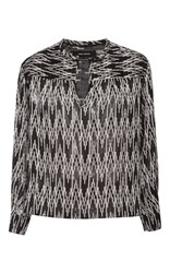 Isabel Marant Gaomi Long Sleeve Blouse Black