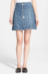 Women's Frame Denim 'Le Panel' Miniskirt Georgetown